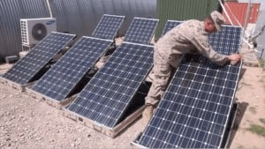 Operational Energy Solar Military Middle East