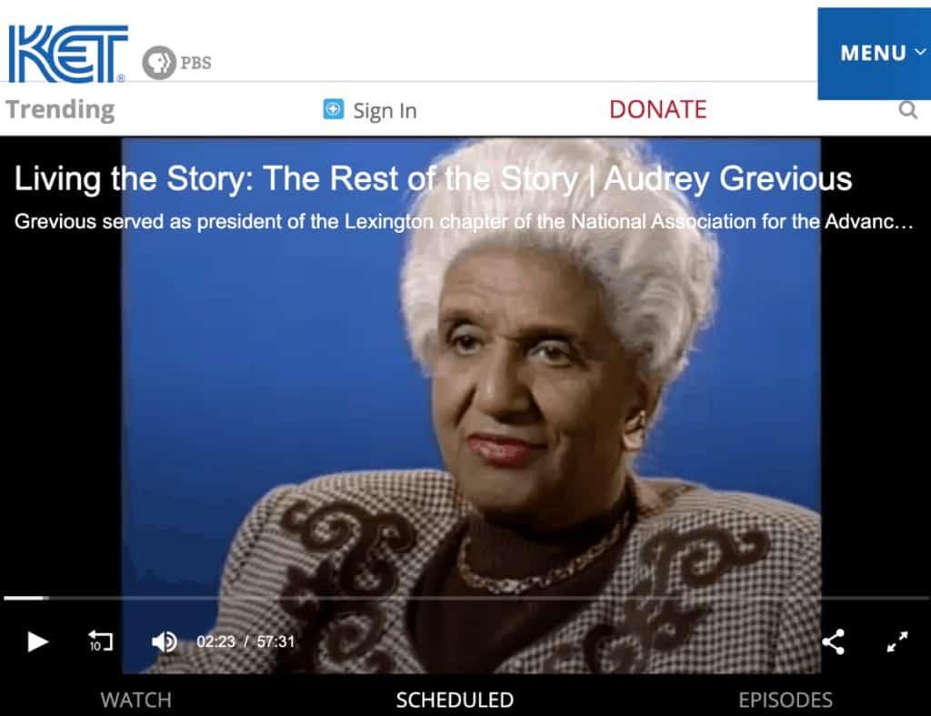 Audrey Grevious Civil Rights