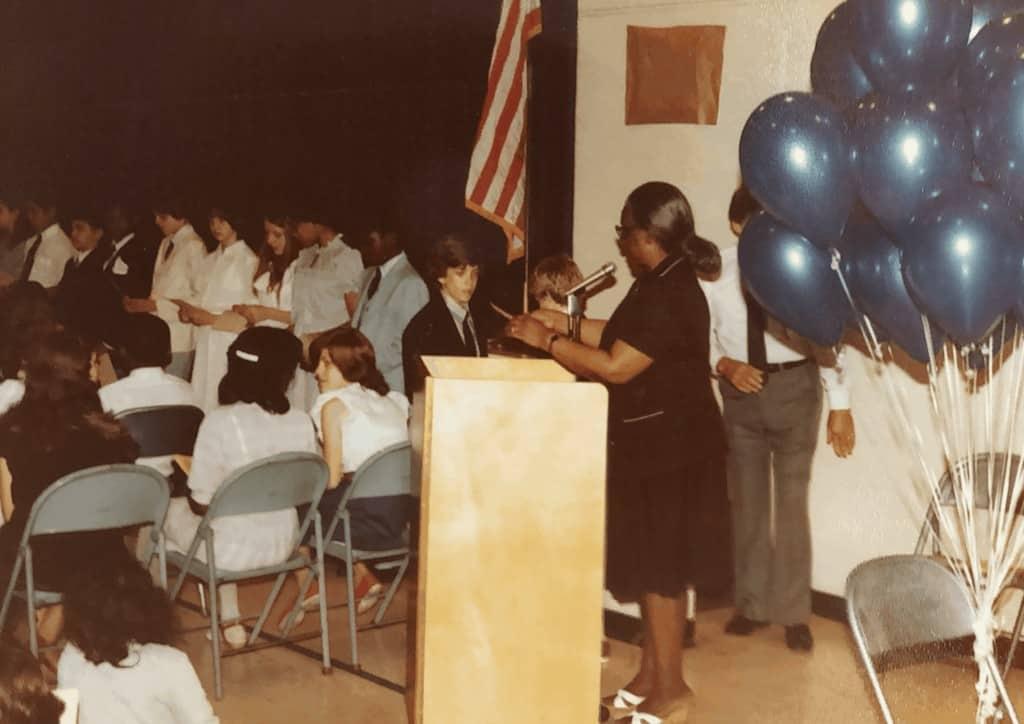 Mrs Grevious Graduation 1983 Maxwell